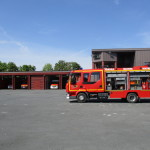 Visite de la caserne des pompiers - mai