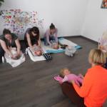 Les ateliers massage avec Sonia
